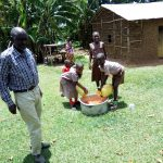 The Water Project: Handidi Community C -  At Mr Ombithis Compound