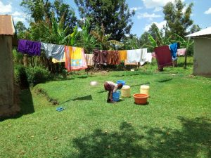 The Water Project:  Clothes Drying On The Clothes Line