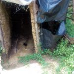The Water Project: Handidi Community C -  Latrine Without A Door
