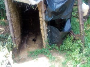 The Water Project:  Latrine Without A Door