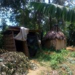 The Water Project: Handidi Community, Chisembe Spring -  Latrines