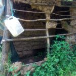 The Water Project: Handidi Community C -  Poor State Of Latrines In This Community