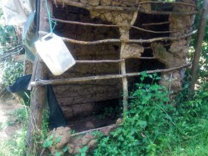 The Water Project:  Poor State Of Latrines In This Community