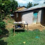 The Water Project: Mukhangu Community, Okumu Spring -  Dish Drying Rack
