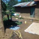 The Water Project: Mukhangu Community, Okumu Spring -  Sample Household
