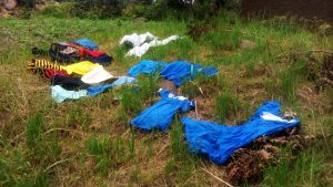 The Water Project:  Clothes Left To Dry On Grass