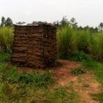 The Water Project: Burachu B Community A -  Latrine Made With Mud Walls And Metal Roof