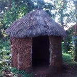 The Water Project: Musiachi Community -  Grass Thatched Roof Latrine