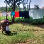 The Water Project: Musiachi Community -  Washing And Hanging Clothes