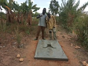 The Water Project:  Completed Sanitation Platform