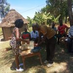 The Water Project: Futsi Fuvili Community, Simeon Shimaka Spring -  Handwashing At Community Training