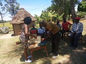 The Water Project:  Handwashing At Community Training