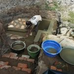 The Water Project: Futsi Fuvili Community, Simeon Shimaka Spring -  Protecting The Spring
