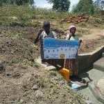 The Water Project: Futsi Fuvili Community, Simeon Shimaka Spring -  Thank You