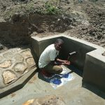 The Water Project: Futsi Fuvili Community C -  The Spring Is Protected