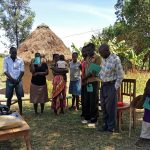 The Water Project: Futsi Fuvili Community, Simeon Shimaka Spring -  Training