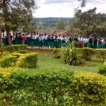 The Water Project: ACK Milimani Girls' Secondary School -  Students In School Grounds