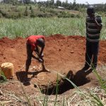 The Water Project: Elukuto Community -  Construction Underway