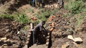 The Water Project:  Laying Bricks For Protection