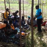 The Water Project: Elukuto Community, Isa Spring -  Training Meeting