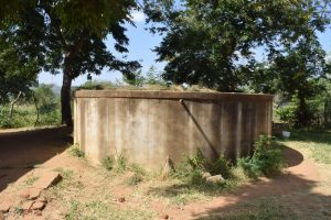 The Water Project:  Decomissioned Concrete Water Tank