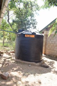 The Water Project:  Smaller Plastic Rainwater Tank