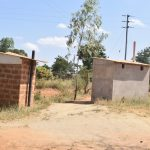 The Water Project: Wee Primary School -  Staff Latrines