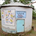 The Water Project: Kyamatula Primary School -  Concrete Rainwater Tank