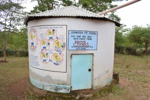 The Water Project:  Concrete Rainwater Tank