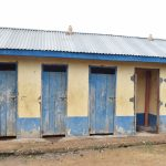 The Water Project: Kyamatula Primary School -  Girls Latrines