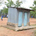 The Water Project: Kyamatula Primary School -  Staff Latrines
