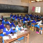 The Water Project: Kyamatula Primary School -  Students Working In Class