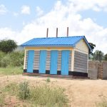The Water Project: Kithoni Secondary School -  Boys Latrines