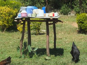 The Water Project:  Vilongo Community Dishracks