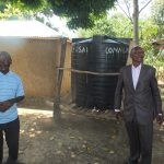 The Water Project: Vilongo Community -  Vilongo Community Rain Water Tank