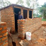 The Water Project: St. Mary's Girl's High School -  Finishing Up New Latrines