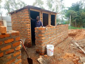 The Water Project:  Finishing Up New Latrines
