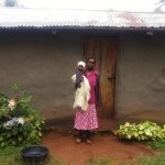 The Water Project: Emulakha Community, Alukoye Spring -  Mama Karani Outside Her House