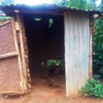 The Water Project: Emulakha Community, Alukoye Spring -  Sample Latrine In This Community