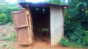 The Water Project:  Sample Latrine In This Community