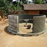 The Water Project: Kigbal Community -  Bricking The Well
