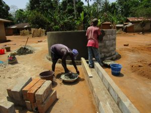 The Water Project:  Constructing The Well