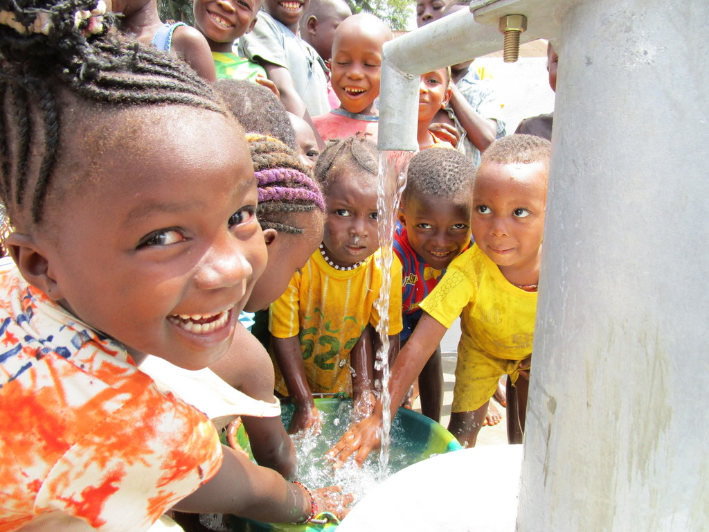 The Water Project : sierraleone18252-excited-about-clean-water