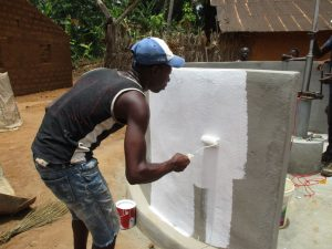 The Water Project:  Painting The New Well