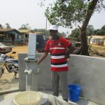 The Water Project: Tholmosor Community, Alpha Dabola Road -  Installation Complete