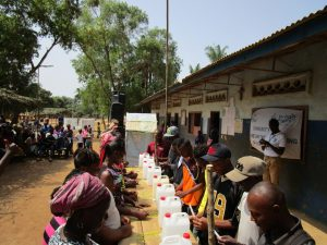 The Water Project:  Learning To Construct Handwashing Stations For Home