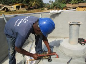 The Water Project:  Preparing Pump For Installation