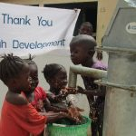 The Water Project: Tholmosor Community, Alpha Dabola Road -  Thank You Jonah Development