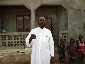 The Water Project:  Interview Sheik Alhaji Ahmad Sesay