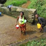 The Water Project: Kasongha Community, Kombrai Road -  Using Open Water Source
